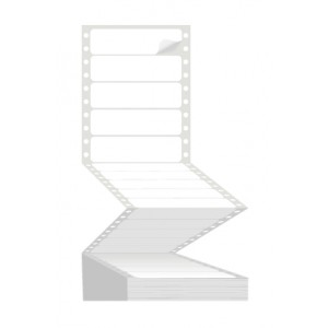 1 to view Fanfold Labels - 127x49