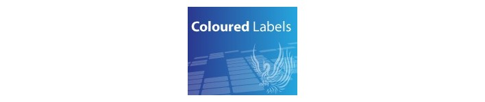 Coloured Labels